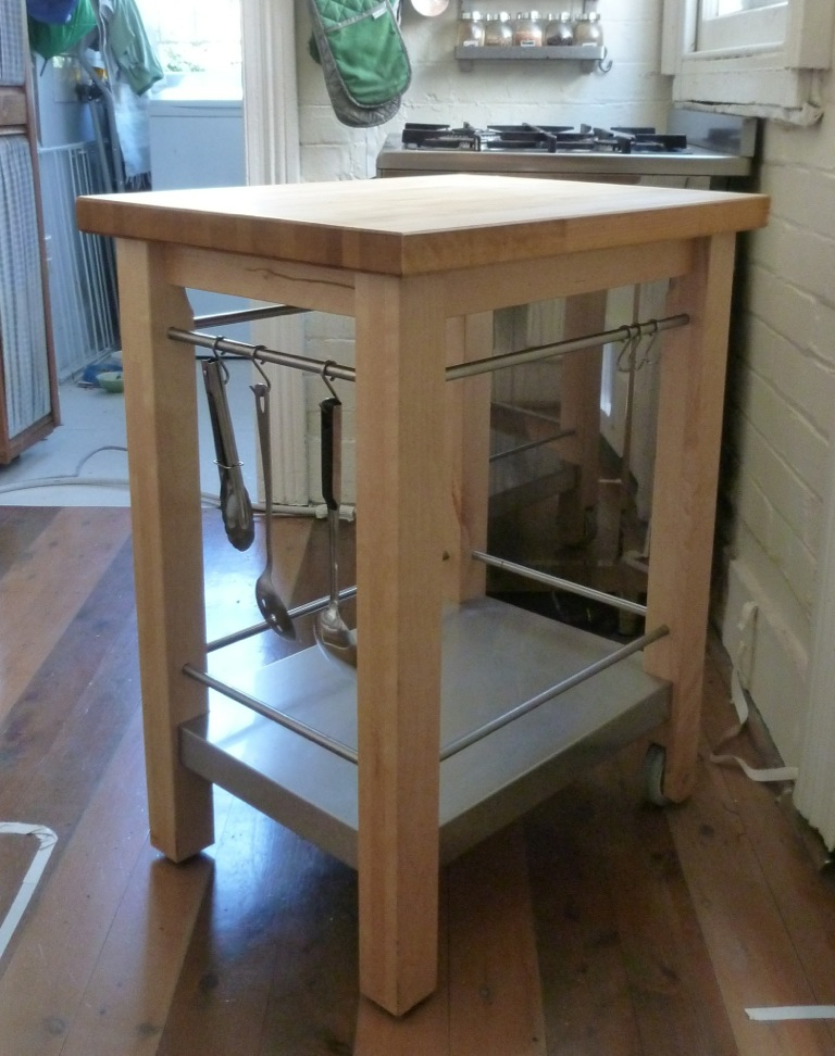 Ikea Patrull Fast Safety Gate ~ IKEA VARDE kitchen trolly butchers block with wheels  eBay